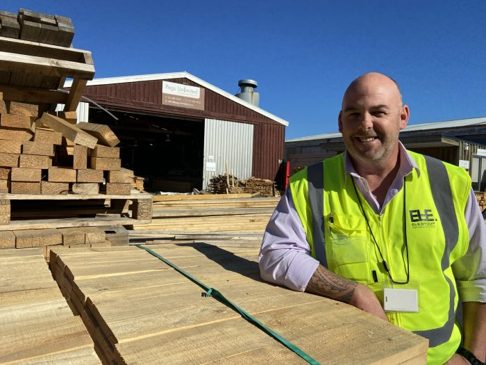 ELE Group business development manager Richie Cummins values stickability in new recruits.