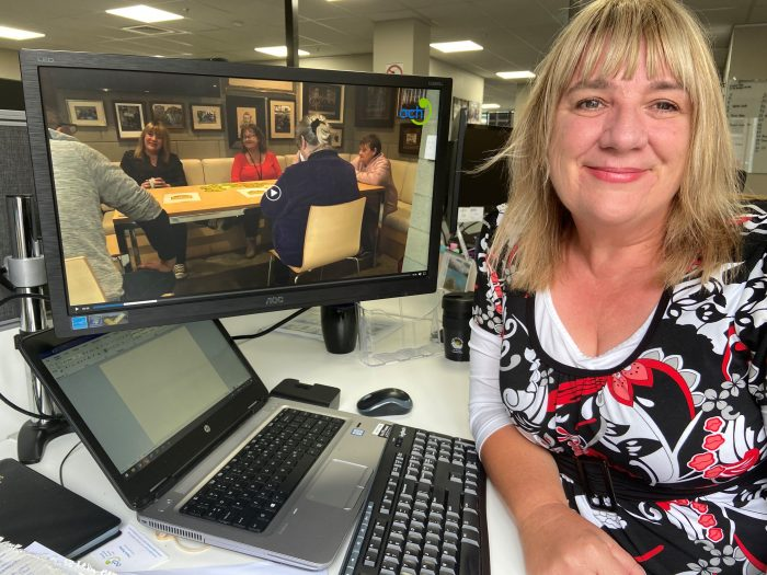 ŌCHT Employment Service job coach Tracie Palmer is part of the team helping getting motivated ŌCHT tenants into work.